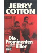 Die Prominenten-Killer - Cotton, Jerry