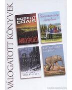Árnyékűző / Százszorszép szerelem / Mennyek bástyája / Elefántokkal suttogó - Crais, Robert, Krueger, William Kent, Roberts, Sheila, Anthony, Lawrence