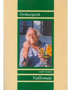 Vallomás - Csák Gyula