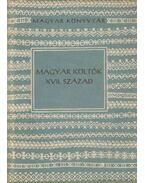 Magyar költők XVII. század - Csanádi Imre