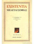 Existentia 1992/1-4. - Csejtei Dezső