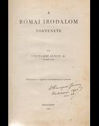 A római irodalom története. (Aláírt.) - Csengeri János