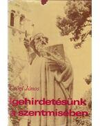 Igehirdetésünk a szentmisében - Csőgl János