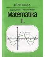 Matematika II. - Czapáry Endre, Némethy Katalin