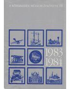 A Közlekedési Múzeum évkönyve VII. 1983-1984 - Czére Béla