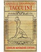Taccuini - D'Annunzio, Gabriele