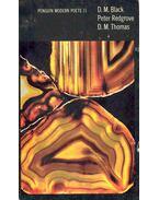 Penguin Modern Poets 11 - D. M. Black, Peter Redgrove, D. M. Thomas