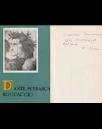 Dante, Petrarca, Boccaccio (Kardos Tibor által dedikált) - Kardos Tibor