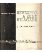 A zenei hang - Darvas Gábor