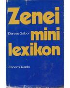 Zenei minilexikon - Darvas Gábor