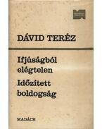Ifjúságból elégtelen, Időzített boldogság - Dávid Teréz