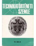 Technikatörténeti szemle XII. 1980-81 - Debreczeni Ágnes (szerk.), Vajda Pál