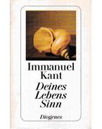 Deines Lebens Sinn - Kant, Immanuel