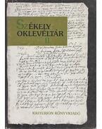 Székely oklevéltár II. (Dedikált) - Demény Lajos, Pataki József