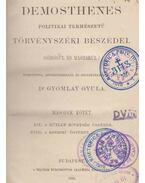 Demosthenes politikai természetű törvényszéki beszédei. II. - Démoszthenész