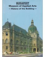 Budapest - Museum of Applied Arts: History of the Building - Dercsényi Balázs