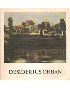 Desiderius Orban (aláírt)