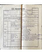 Dévényi Iván zárójelentése - Esztergom kórház