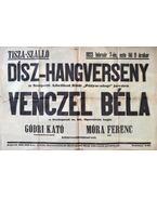 Dísz-hangverseny a Szegedi Atlétikai Klub javára, Venczel Béla énekes, Móra Ferenc író fellépésével (1923)