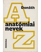 Anatómiai nevek - Donáth Tibor