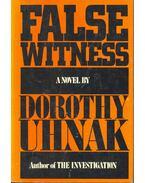 False Witness - Dorothy Uhnak