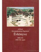 A Pécsi Orvostudományi Egyetem Évkönyve - Dr. Antal Ernő (szerk), Benke József  dr.