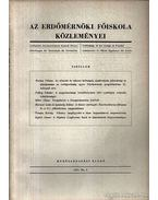 Az Erdőmérnöki Főiskola közleményei 1957 No. 2. - Dr. Botvay Károly
