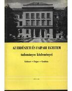 Az Erdészeti és Faipari Egyetem tudományos közleményei 1973. 2. sz. - Dr. Gencsi László