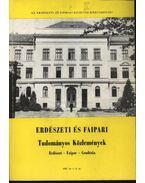 Erdészeti és Faipari Tudományos Közlemények 1987. év 1-2. sz. - Dr. Gencsi László