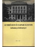 Az Erdészeti és Faipari Egyetem tudományos közleményei 1969. év 1. szám - Dr. Herpay Imre