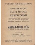 Magyar-angol és angol-magyar kéziszótár - Dr. Latzkó Hugó