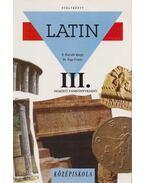 Latin nyelvkönyv III. - Dr. Nagy Ferenc, N. HORVÁTH MARGIT