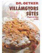 Villámgyors sütés - Dr. Oetker