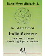 India üzenete - Dr. Oláh Andor