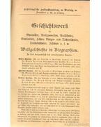 Weltgeschichte in Biographien in brei koncentrisch sich erweiternden kursen I. kötet - Dr. Spiek, Moritz, Berlet