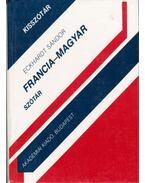 Francia-magyar szótár - Eckhardt Sándor