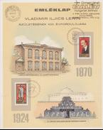 Emléklap Vladimir Iljics Lenin születésének 100. évfordulójára