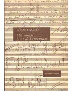 119 római Liszt dokumentum - Eösze László