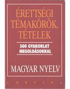 Érettségi témakörök, tételek - Magyar nyelvi gyakorlatok - Balázs Géza