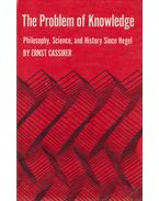 The Problem of Knowledge - Ernst Cassirer