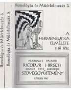 A hermeneutika elmélete I-II. - Fabiny Tibor