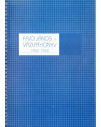 Vázlatkönyv 1950-1965 (számozott) (aláírt) - Fajó János