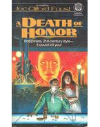 A Death of Honor - FAUST, JOE CLIFFORD