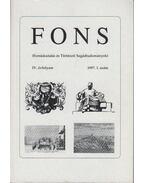 FONS IV. évfolyam 1997. 1. - Fazekas Csaba, Mészáros Kálmán, Németh István, Pálffy Géza, Sarusi Kiss Béla