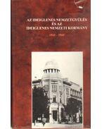 Az ideiglenes nemzetgyűlés és az ideiglenes nemzeti kormány 1944-1945 - Feitl István