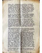Ferenczy Béni levele Dévényi Ivánnak