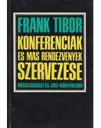 Konferenciák és más rendezvények szervezése - Frank Tibor