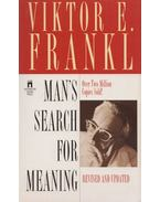 Man's Search for Meaning - Frankl, Viktor E.