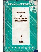 Az érettségi találkozó - Franz Werfel