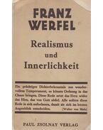 Realismus und Innerlichkeit - Franz Werfel